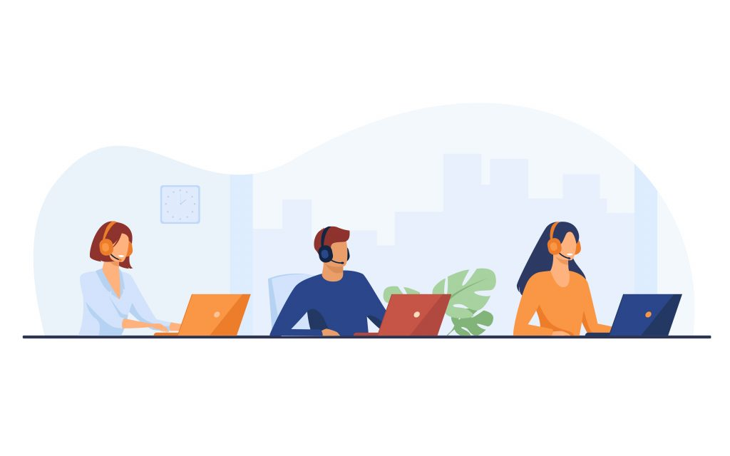 Callcenter Medewerkers als Antwoordservice